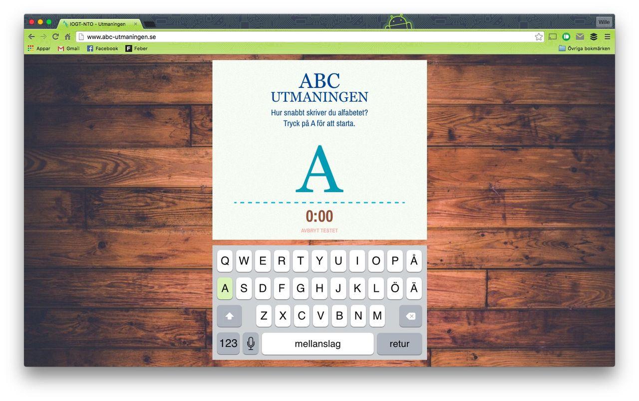 ABC-utmaningen vill visa hur det är att plugga bland fyllon