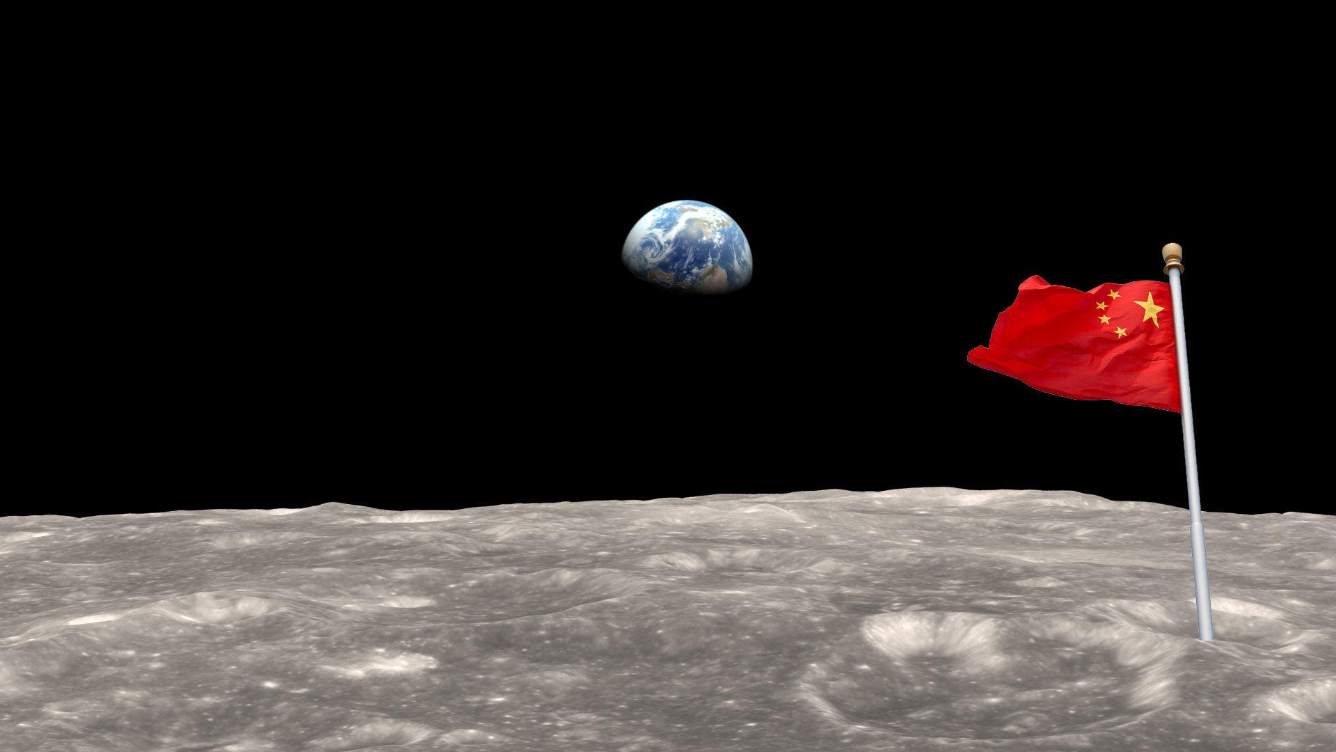 Kina siktar på att landsätta en människa på månen 2036