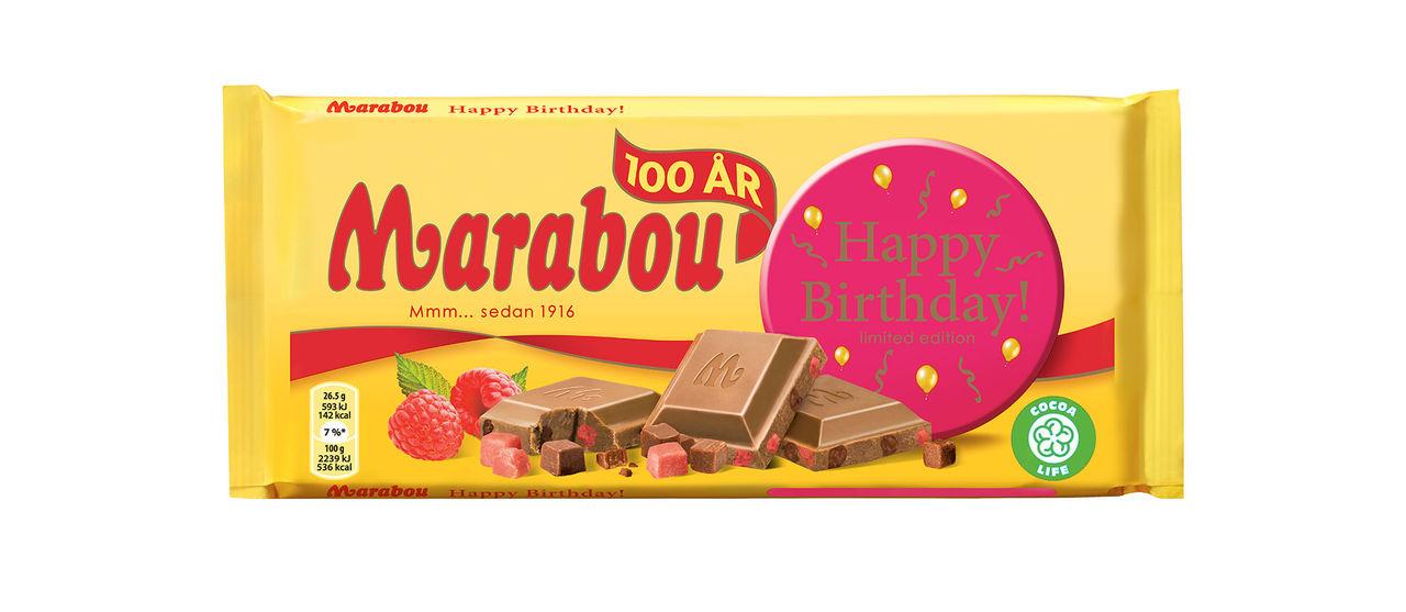 Marabou firar 100 år med ny chokladkaka