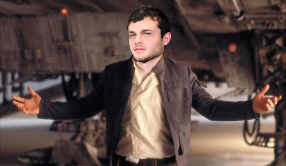 Alden Ehrenreich är den nya unga Han Solo