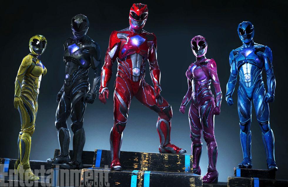 En första titt på dräkterna i Power Rangers
