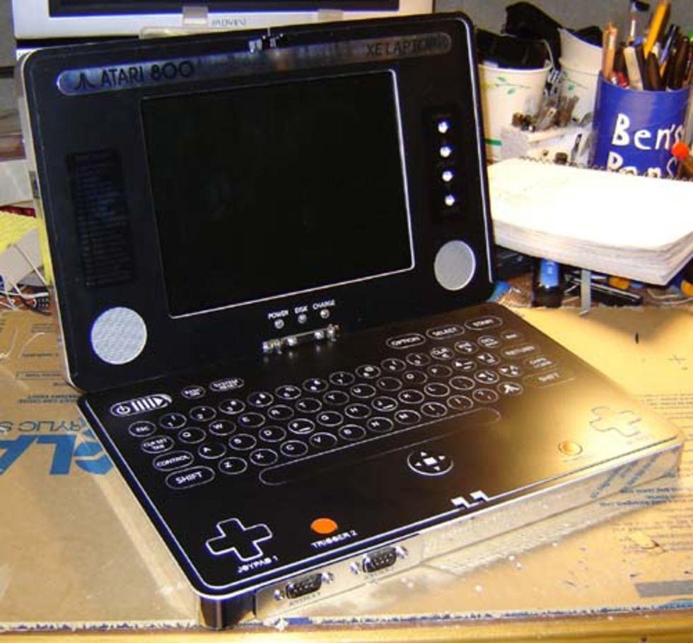 Benheck har byggt om en Atari