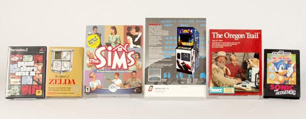 Sex nya spel invalda i spelens Hall of Fame