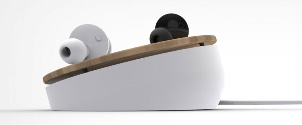 Truu är ett par trådlösa hörlurar som även laddas trådlöst