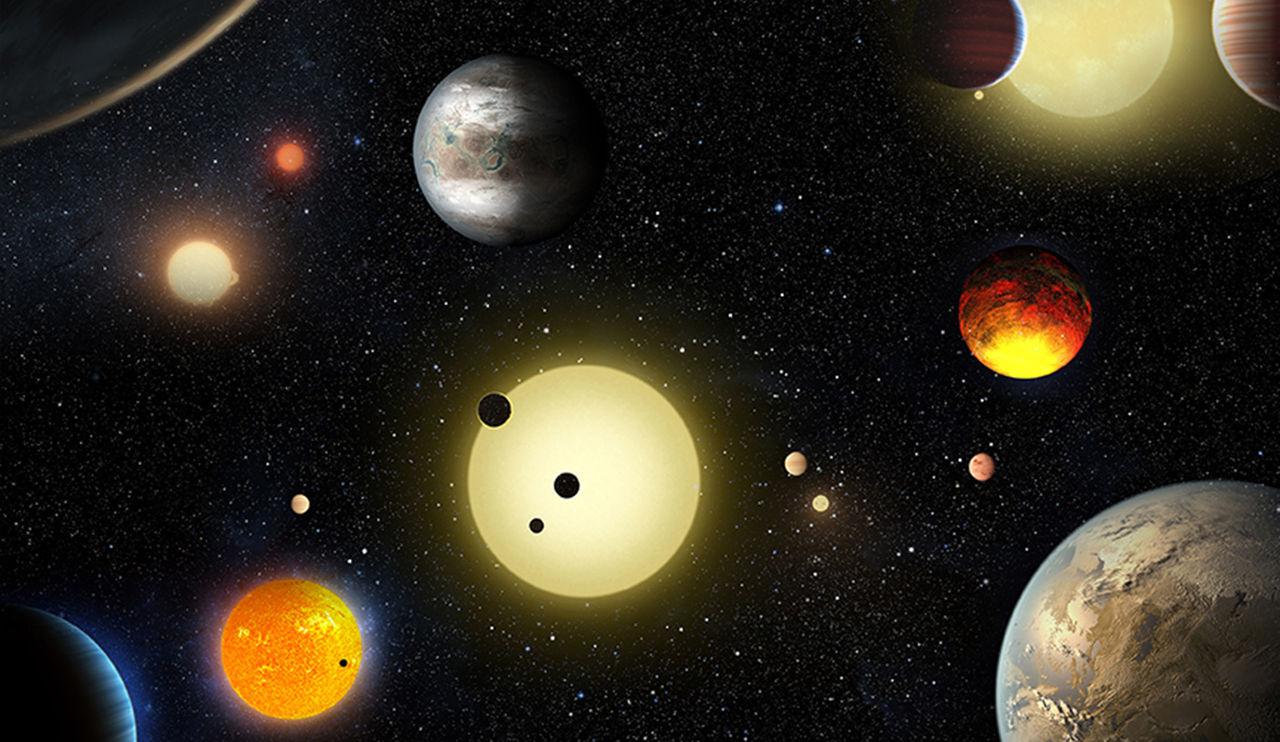Keplerteleskopet har hittat 1.284 nya planeter i Vintergatan