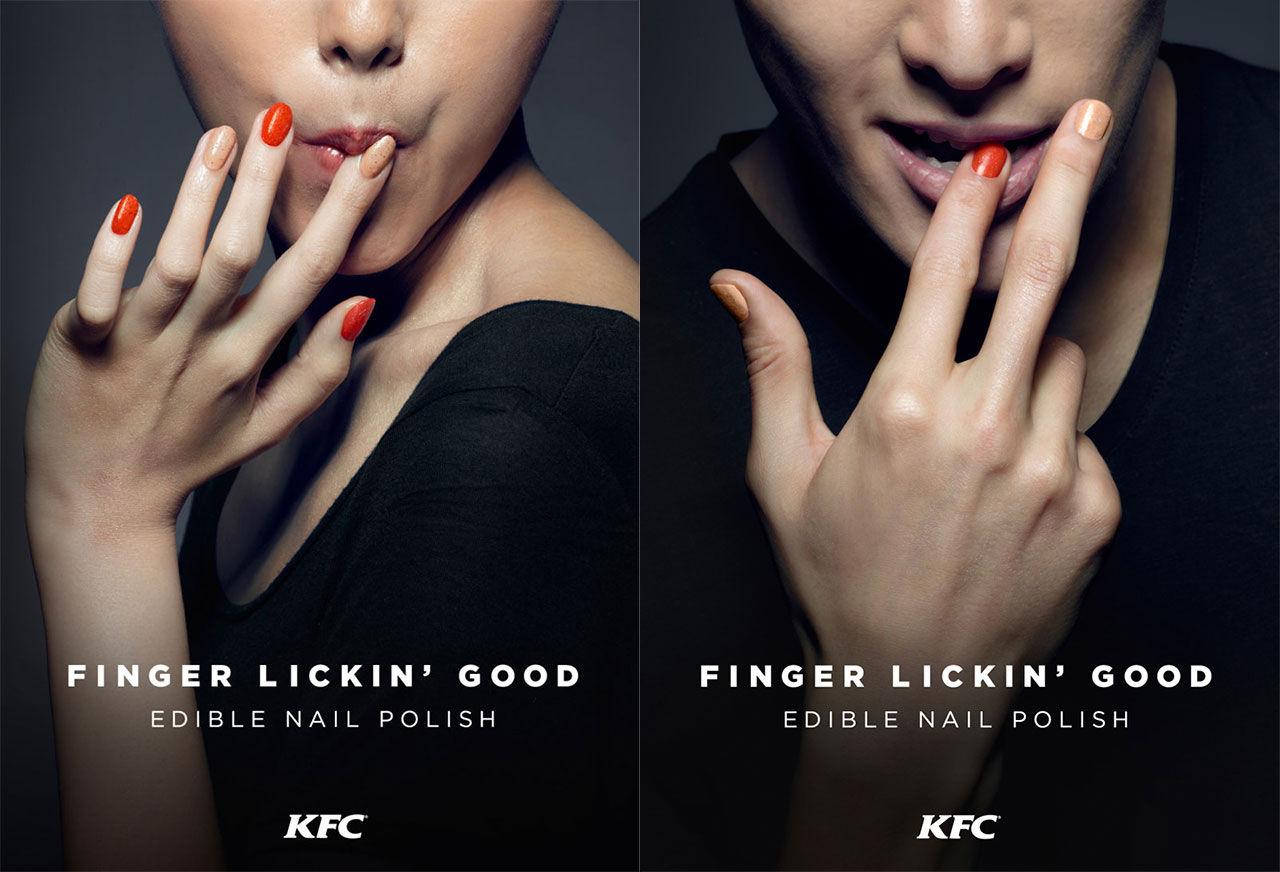 KFC släpper nagellack som smakar kyckling