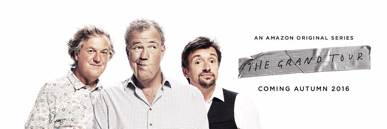 Clarkson, Hammond och Mays nya show heter The Grand Tour