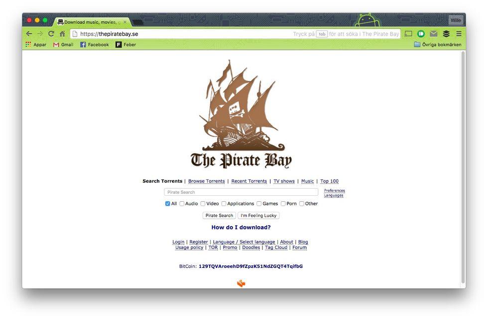 The Pirate Bay förlorar i hovrätten