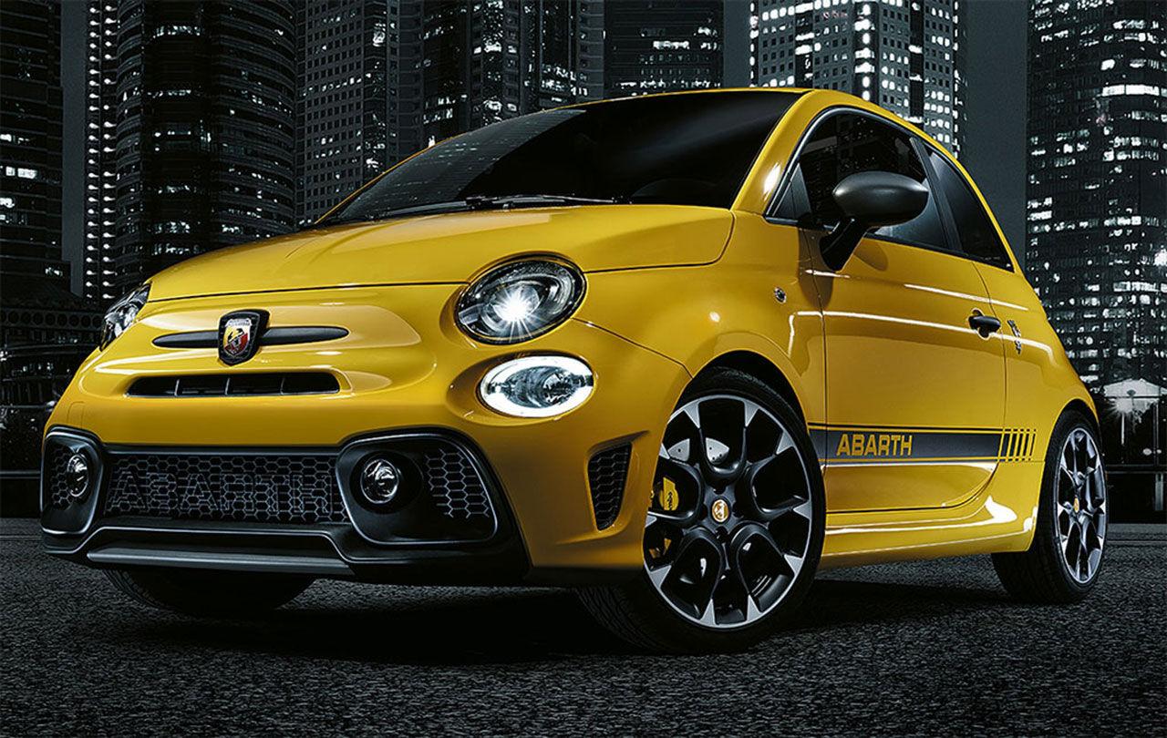 Fiat uppdaterar Abarth 595