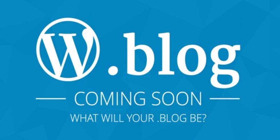 Snart kan alla registrera en .blog-domän