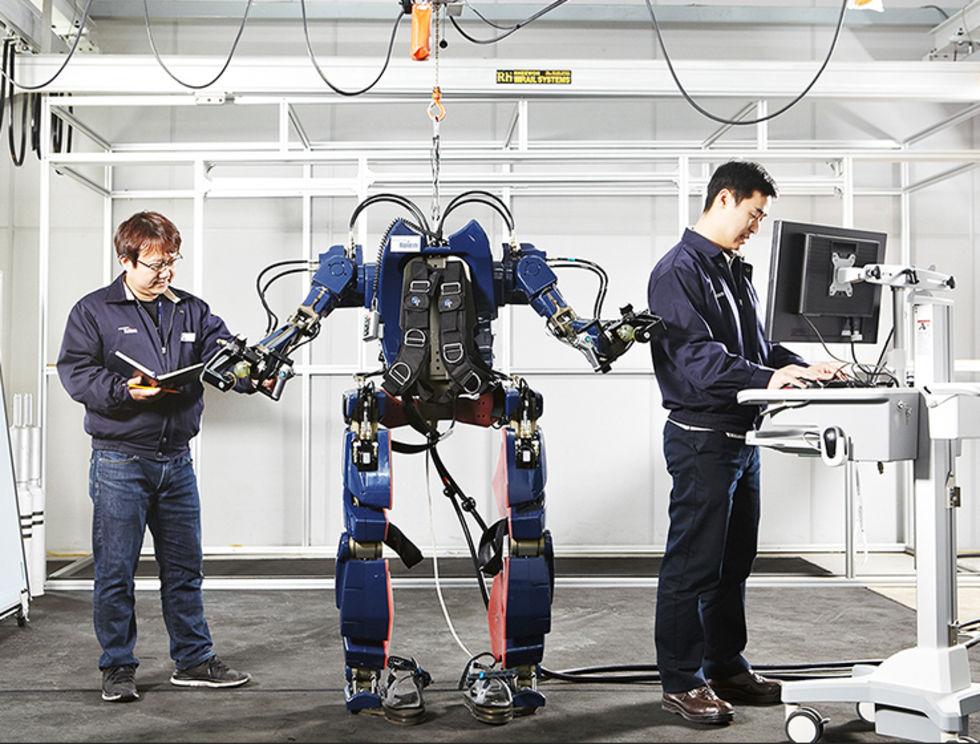 Hyundai har tagit fram ett exoskelett