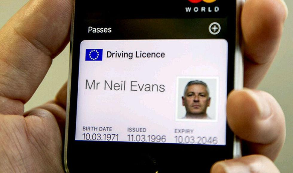 Snart kan man ha körkortet i sin iPhone