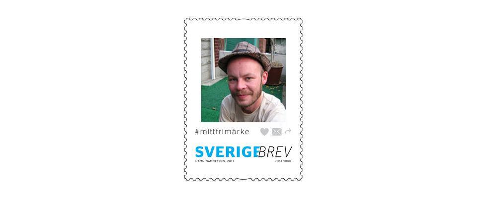 Nu kan du få din bild på ett frimärke