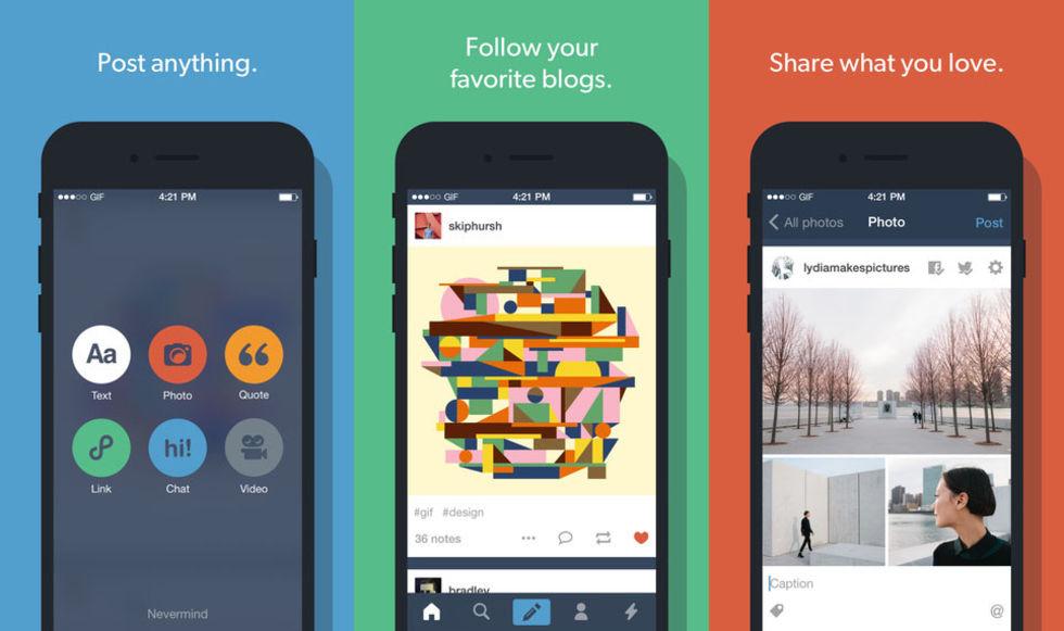 Tumblr uppdaterar gif-makaren i appen