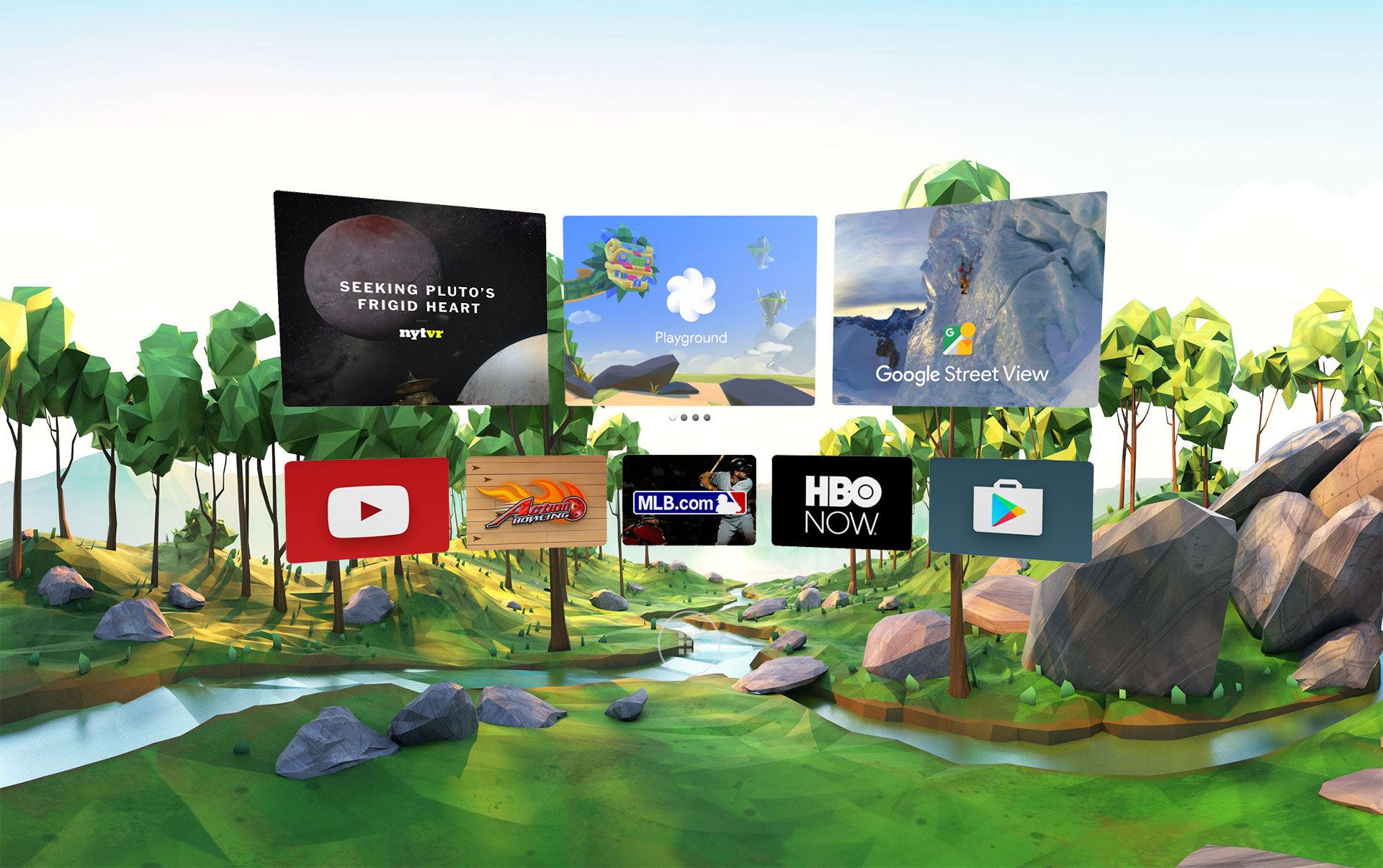 Daydream är Googles satsning på virtuell verklighet