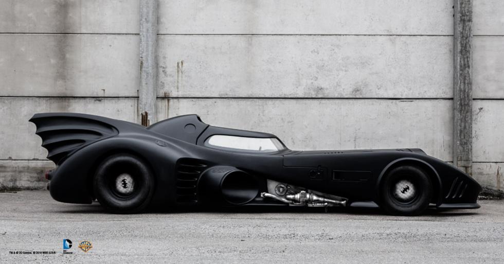 Åk med Batmobile i helgen