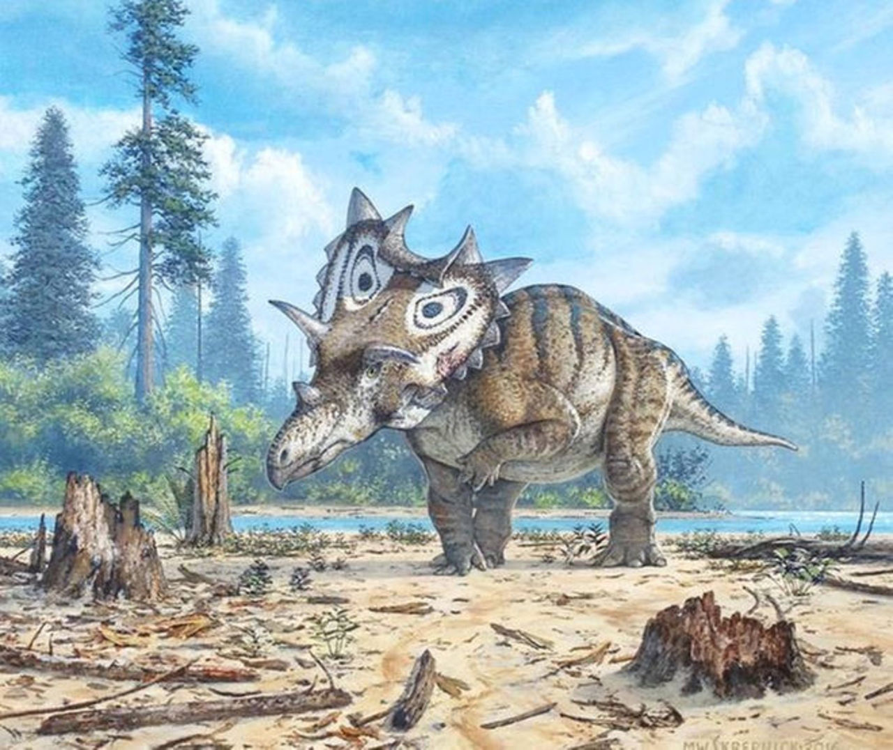 Spar efter tva nya dinosaurier har upptackts