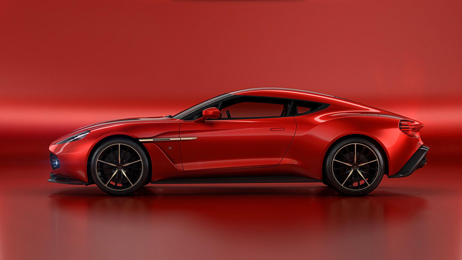 Zagato har masserat nya Aston Martin Vanquish