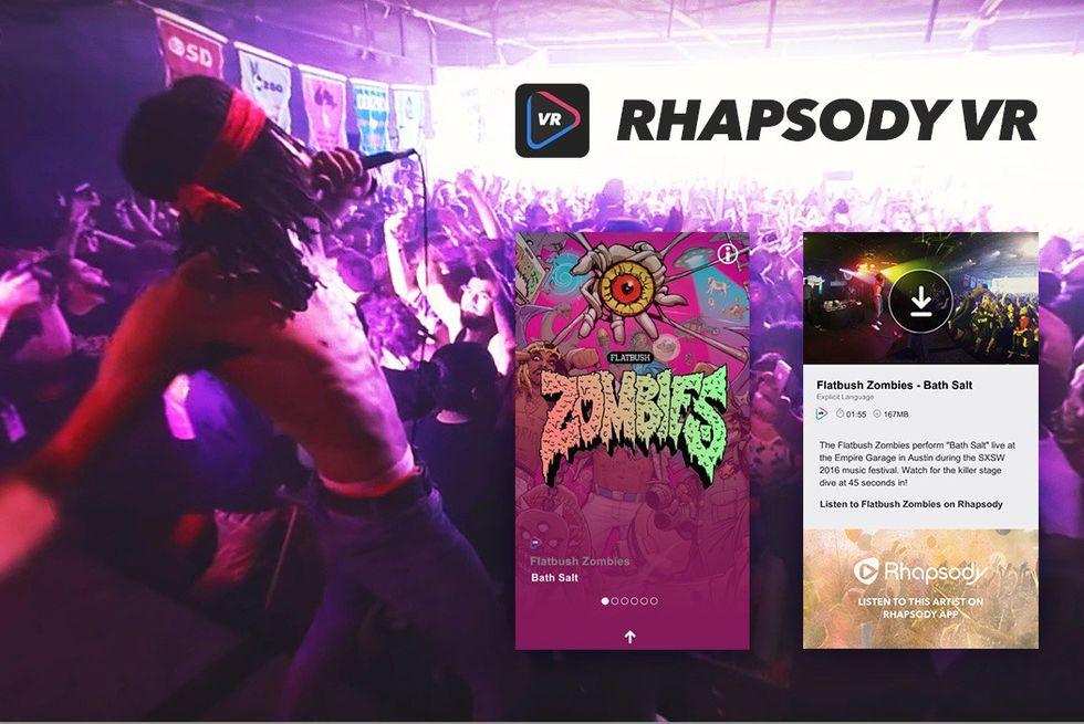 Rhapsody drar igång VR-plattform