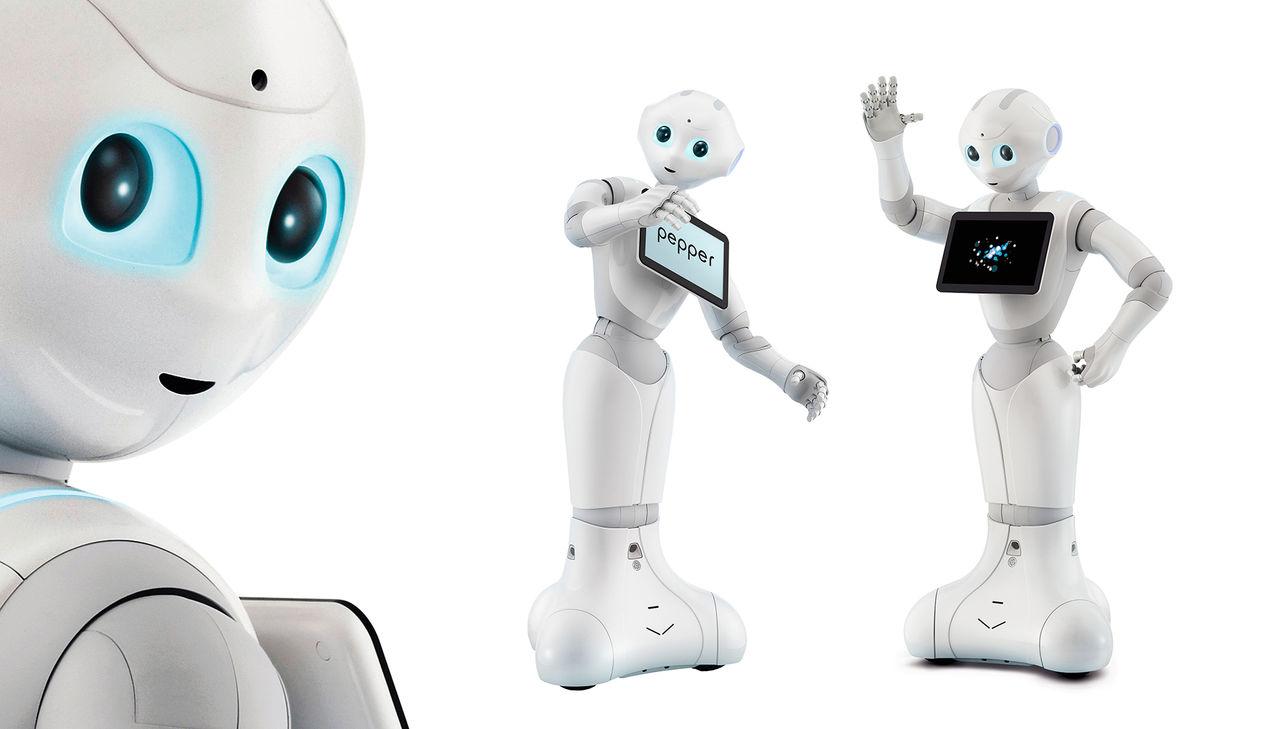 Roboten Pepper börjar köra Android. Typ.