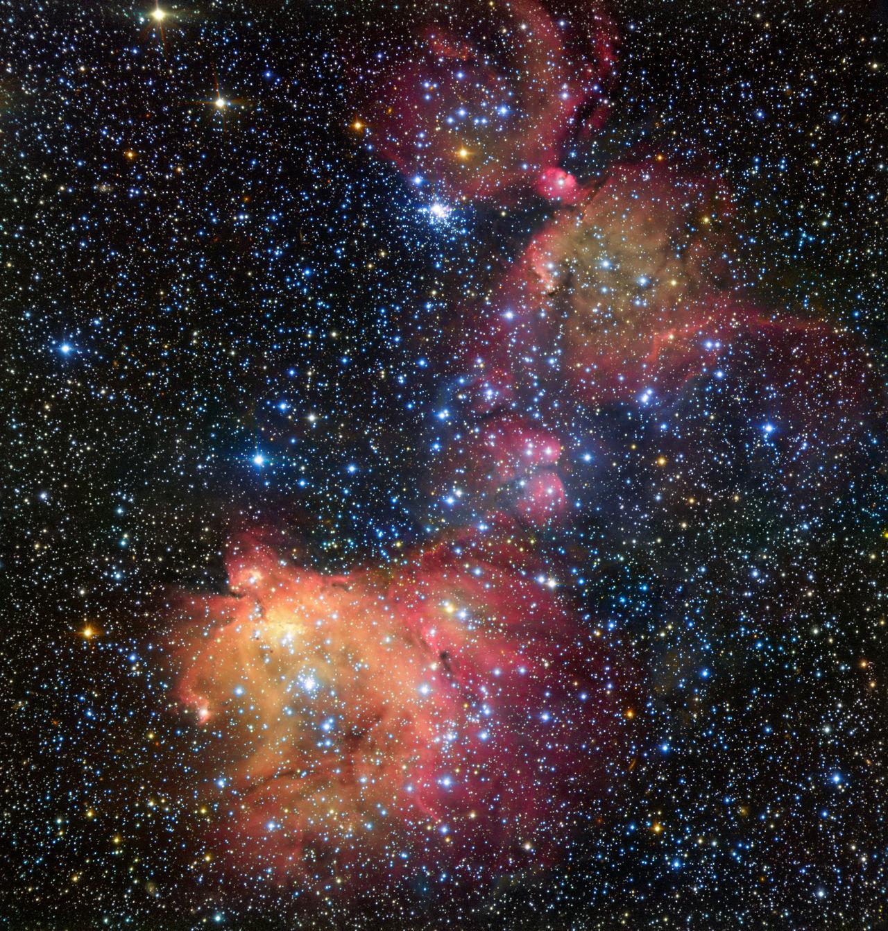 Väldigt vacker bild på nebulosan LHA 120-N55