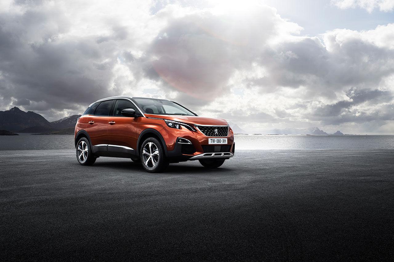 Peugeot visar bilder på nya 3008