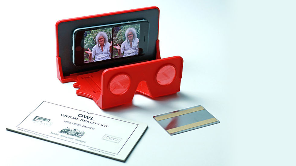 Brian May gör ett VR-headset för mobiler