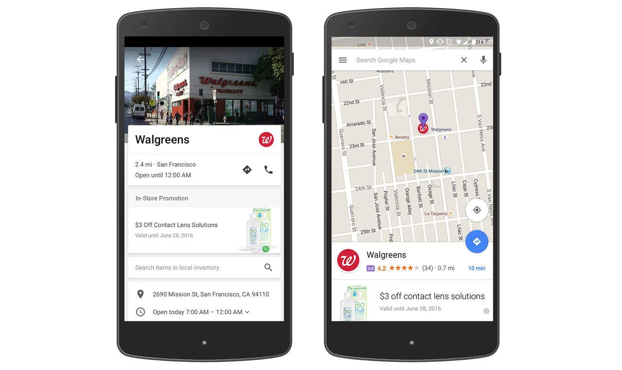 Google Maps kommer att få annonser
