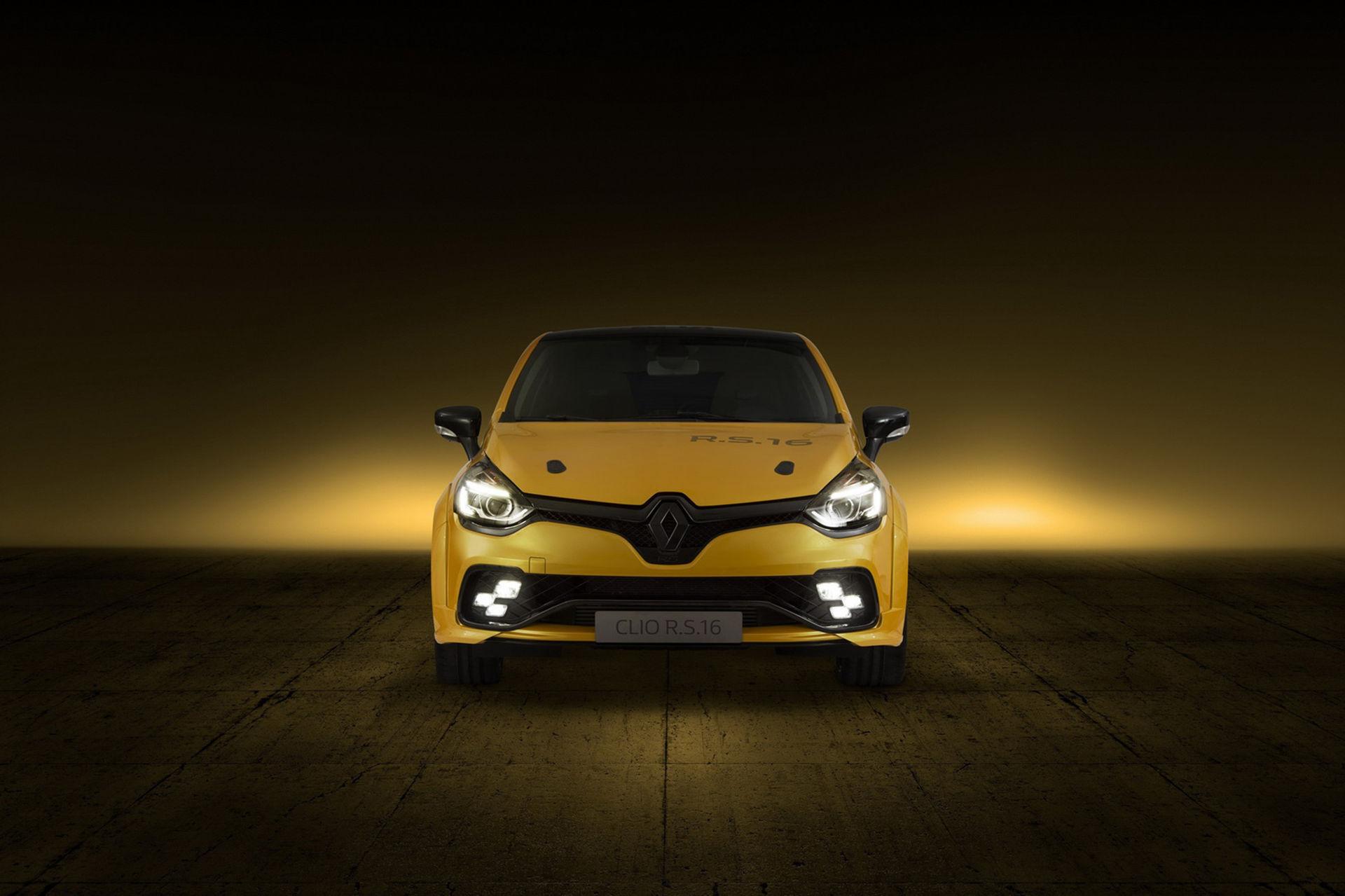Renault presenterar Clio R.S.16
