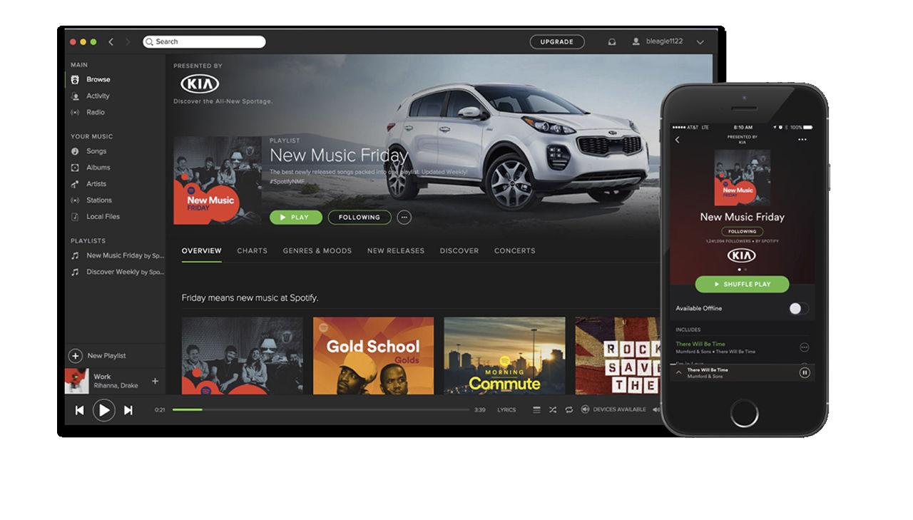 Spotify låter företag sponsra spellistor