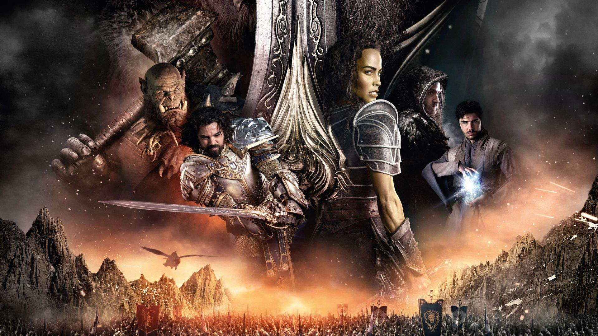 Warcraftfilmen är främst sevärd för de som nördat spelen