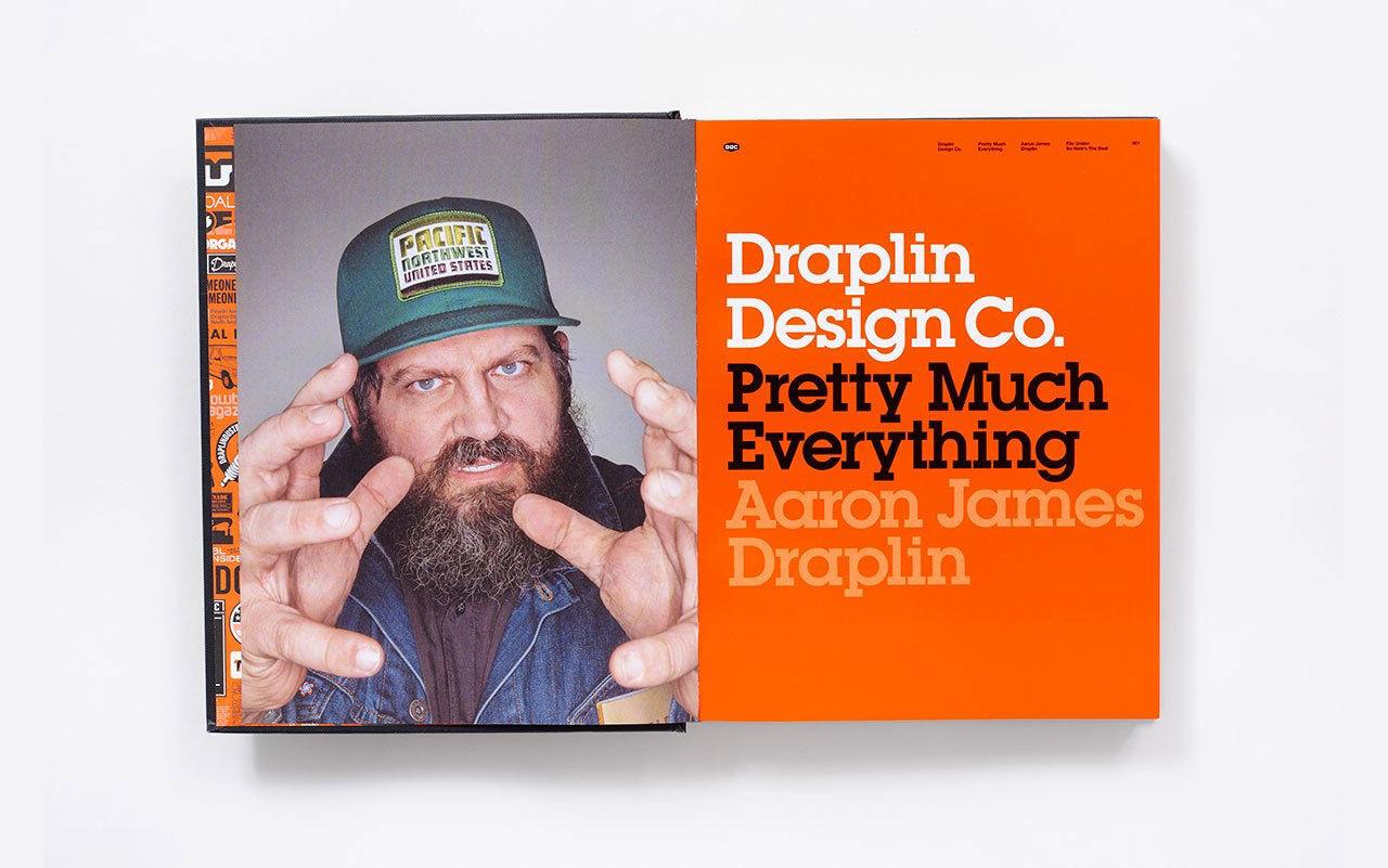 Boken med typ allt av Aaron James Draplin