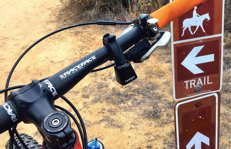 En annorlunda ringklocka för mountainbiken