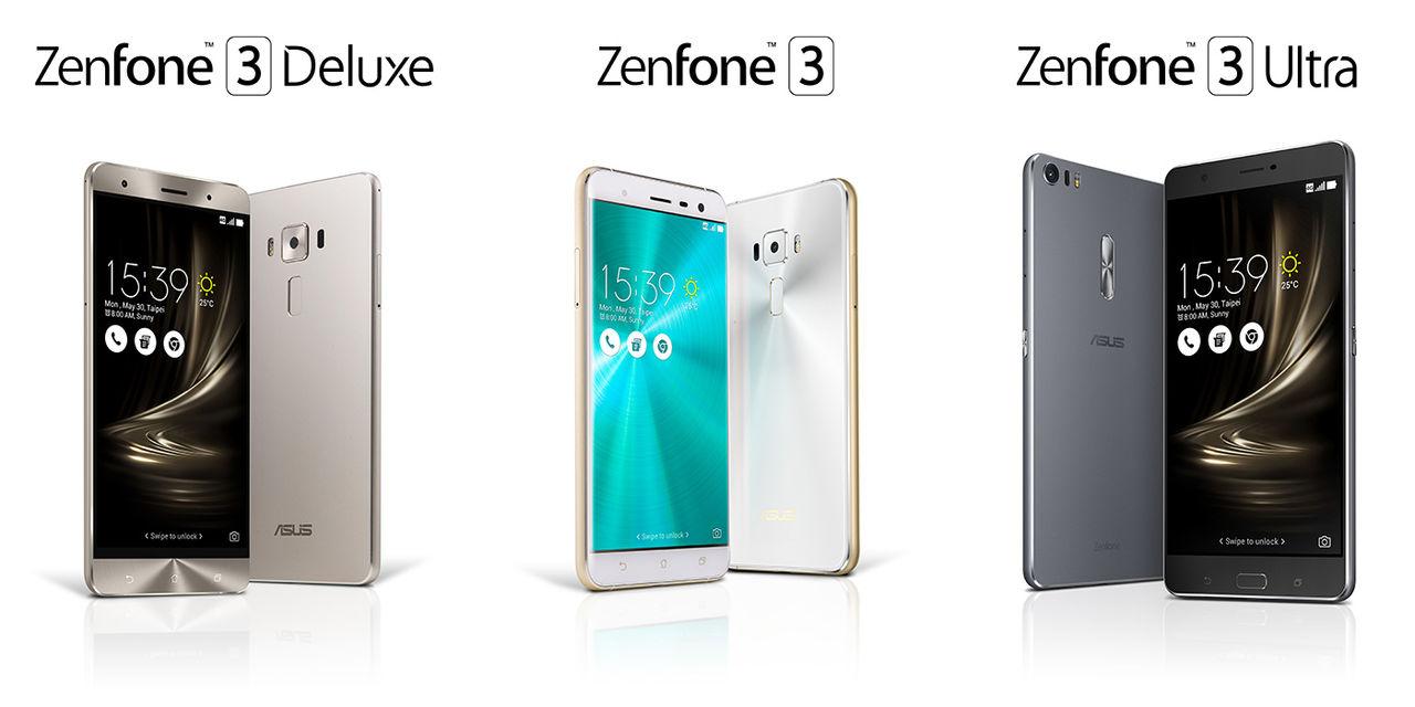 Asus nya Zenfones är här!