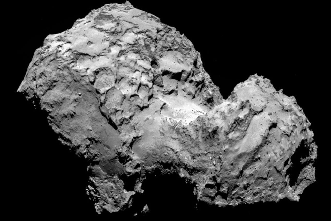 Rosetta hittar en av livets byggstenar i kometdamm