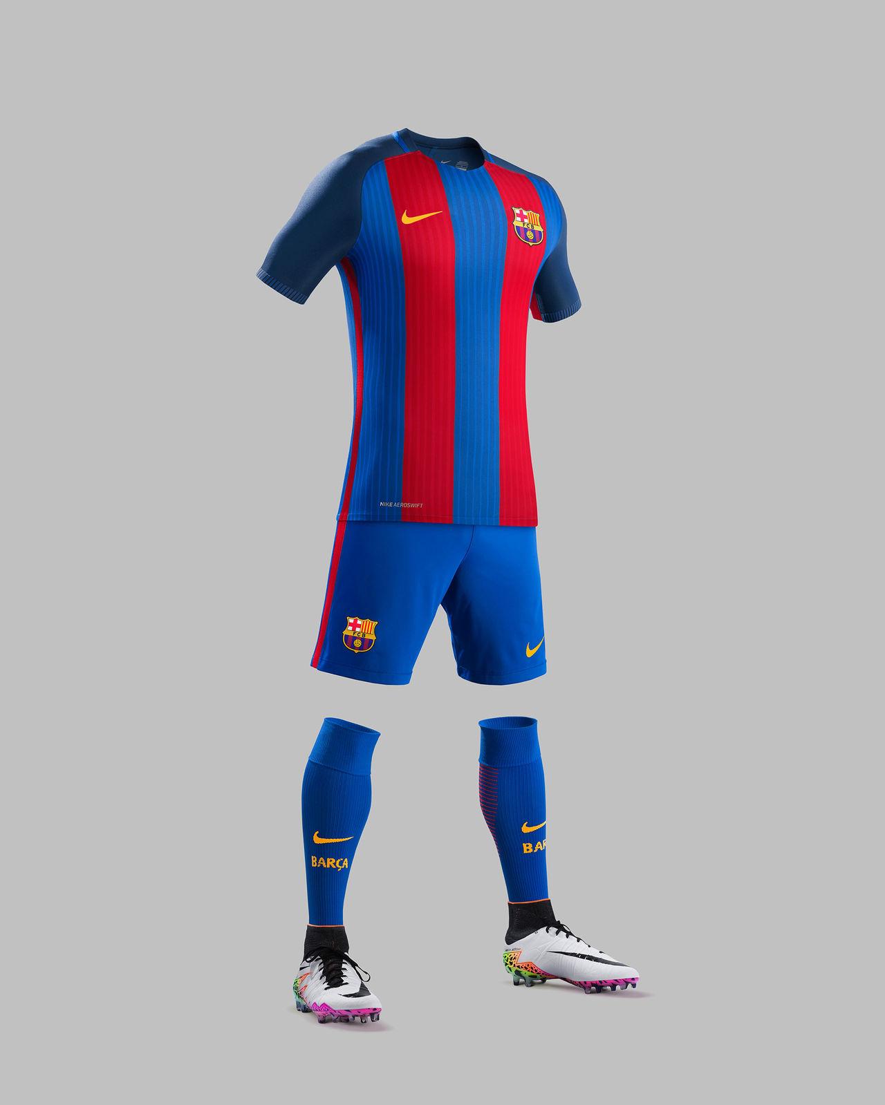 Det här är FC Barcelonas nya hemmaställ