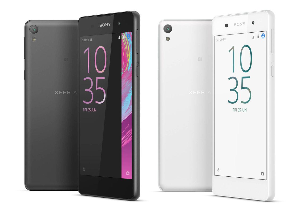 Sony visar upp Xperia E5