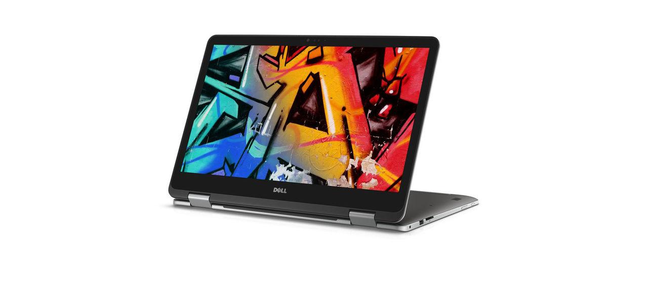 Dell visar upp 2-i-1-dator på 17 tum
