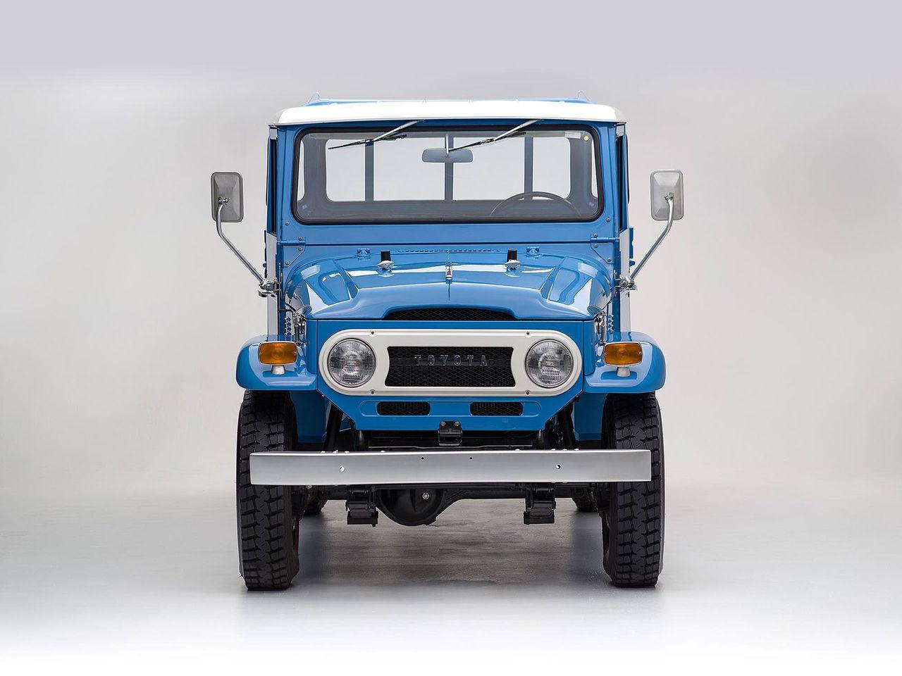 Fantastisk Toyota Land Cruiser FJ87 såld på ebay