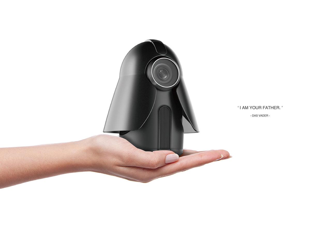 Darth Vader som övervakningskamera