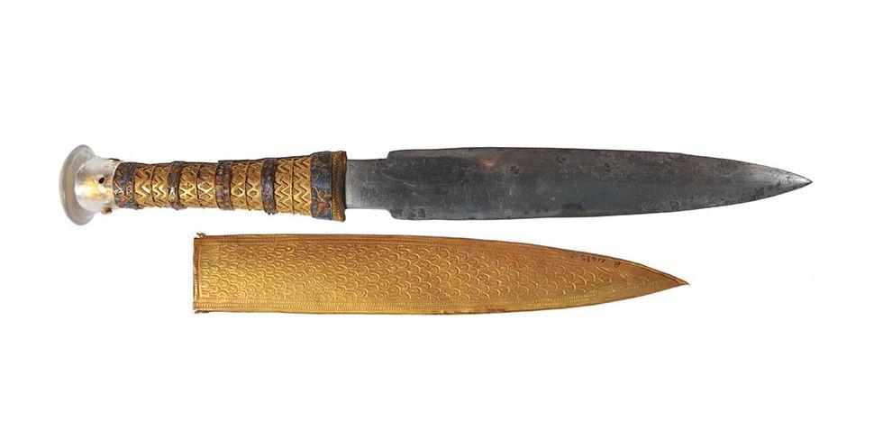 Tuthankhamon hade en kniv som var gjord av en meteorit