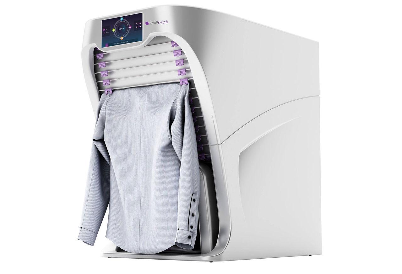 Maskinen som viker din tvätt är bara dum