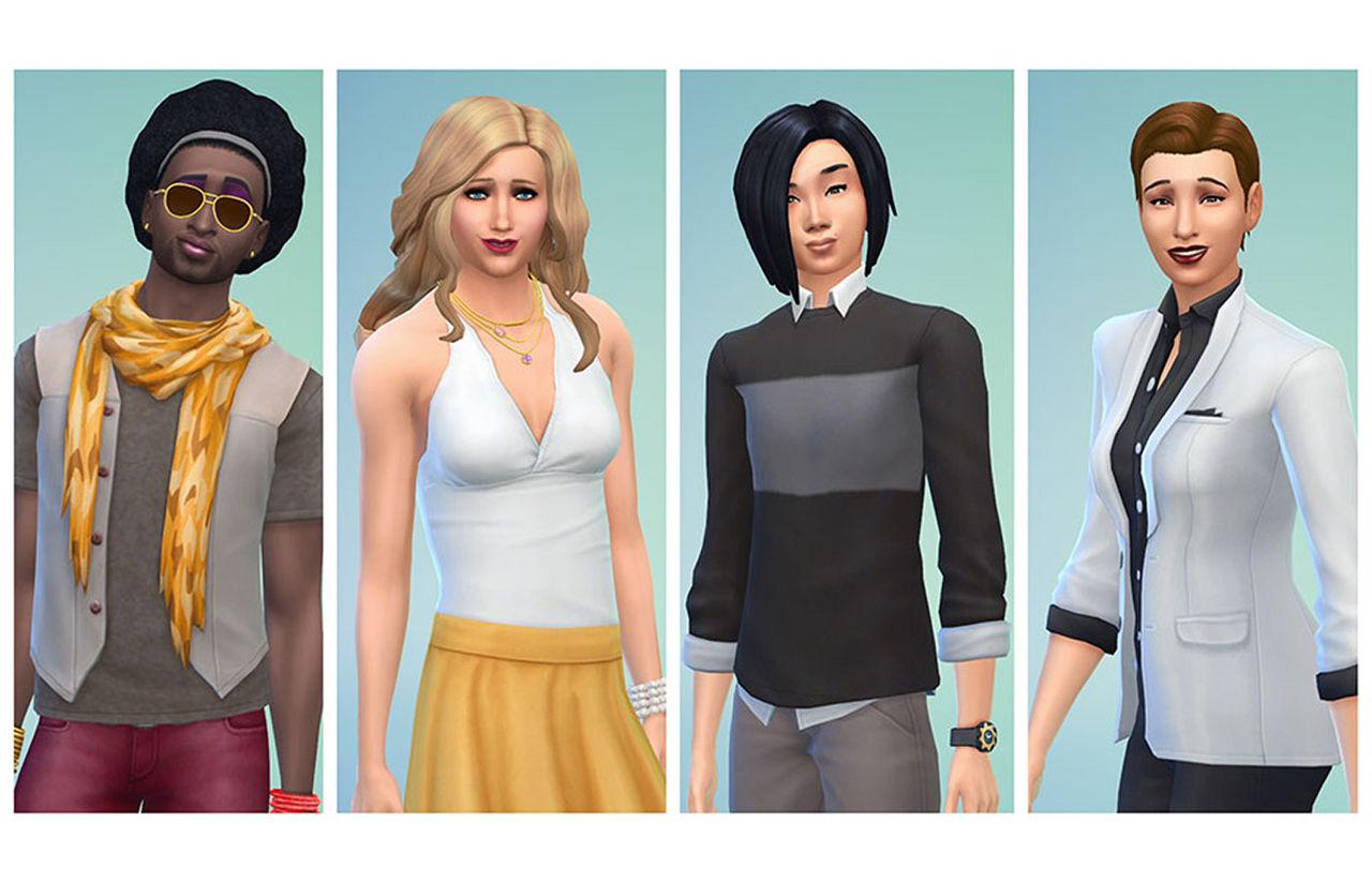 EA tar bort könsindelningen för karaktärerna i The Sims 4
