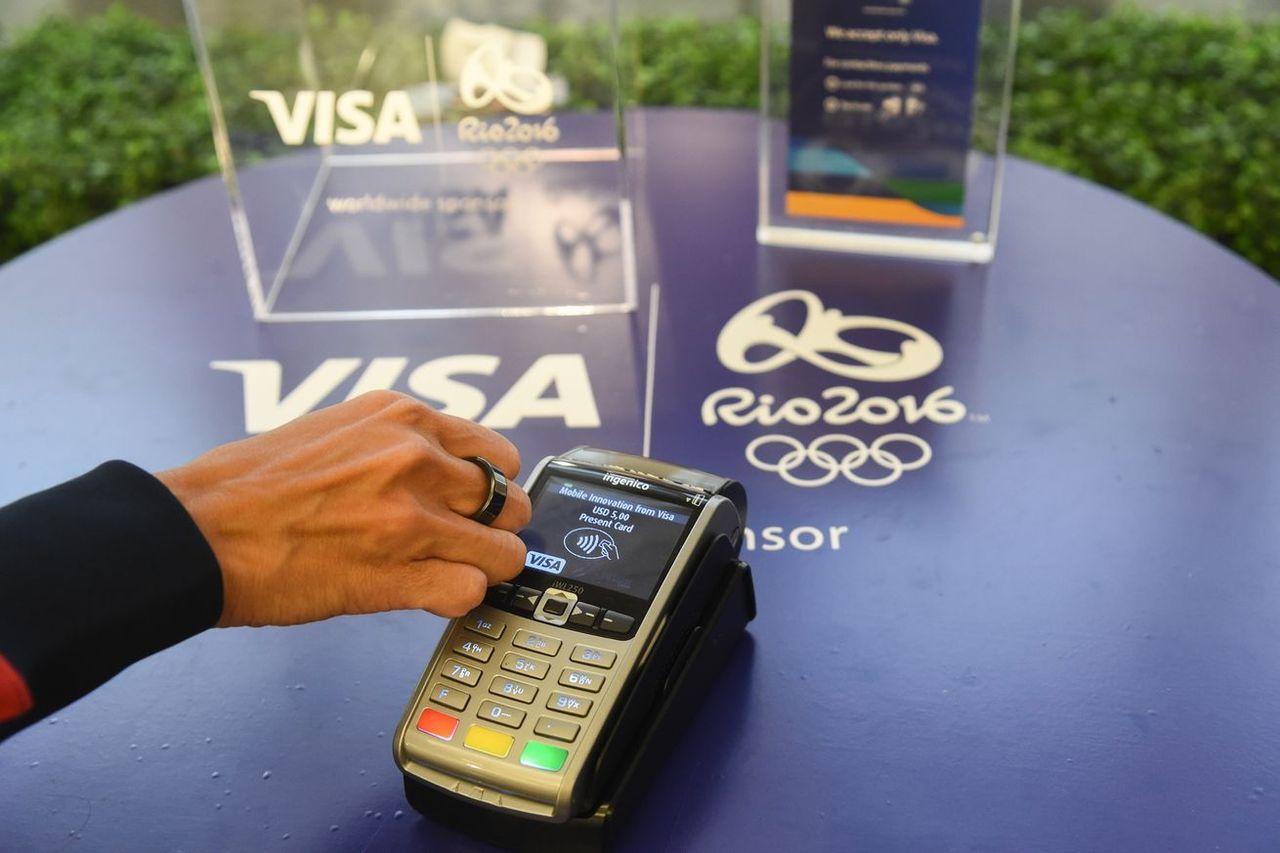 VISA lanserar ring som man kan betala med
