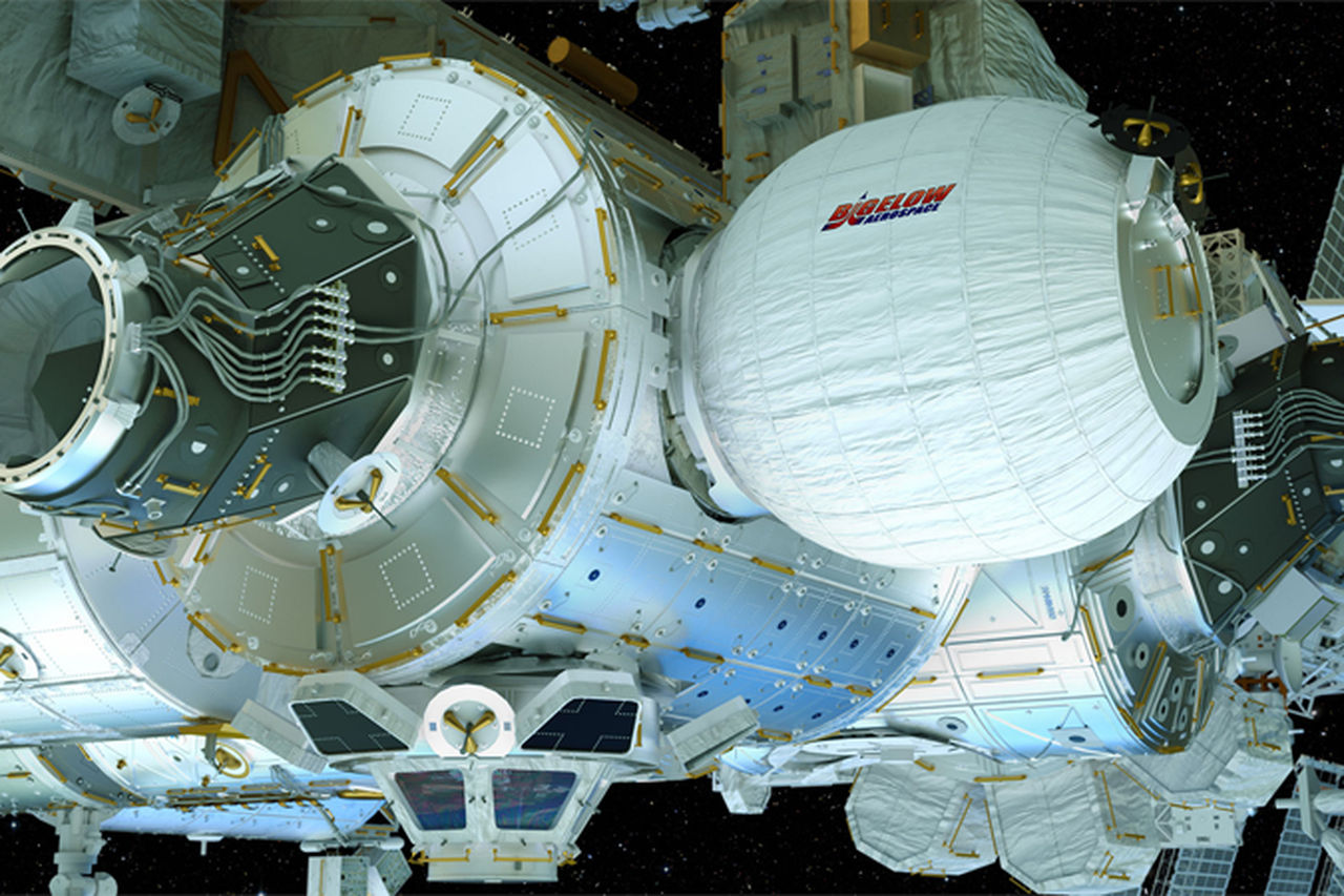 Nu har astronauter klivit in i BEAM