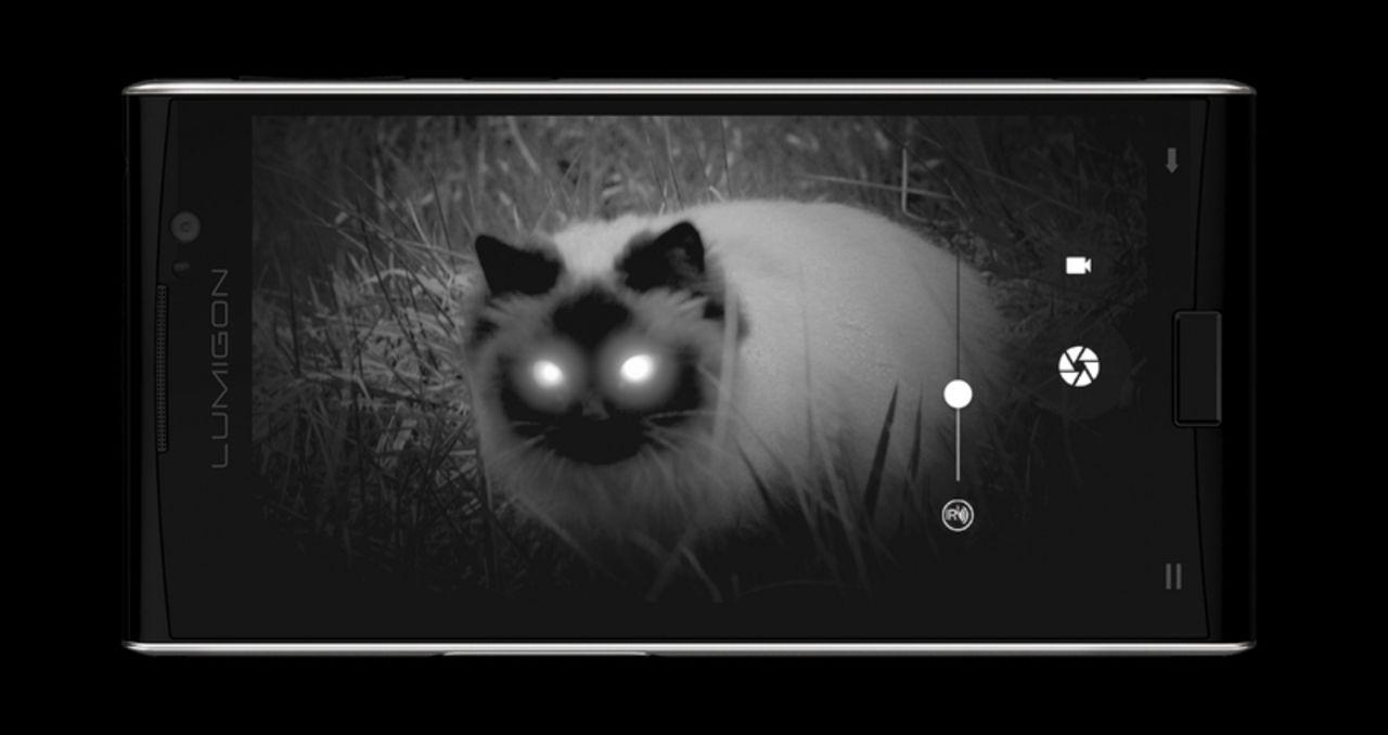 Lumigon T3 är första mobilen med mörkerkamera