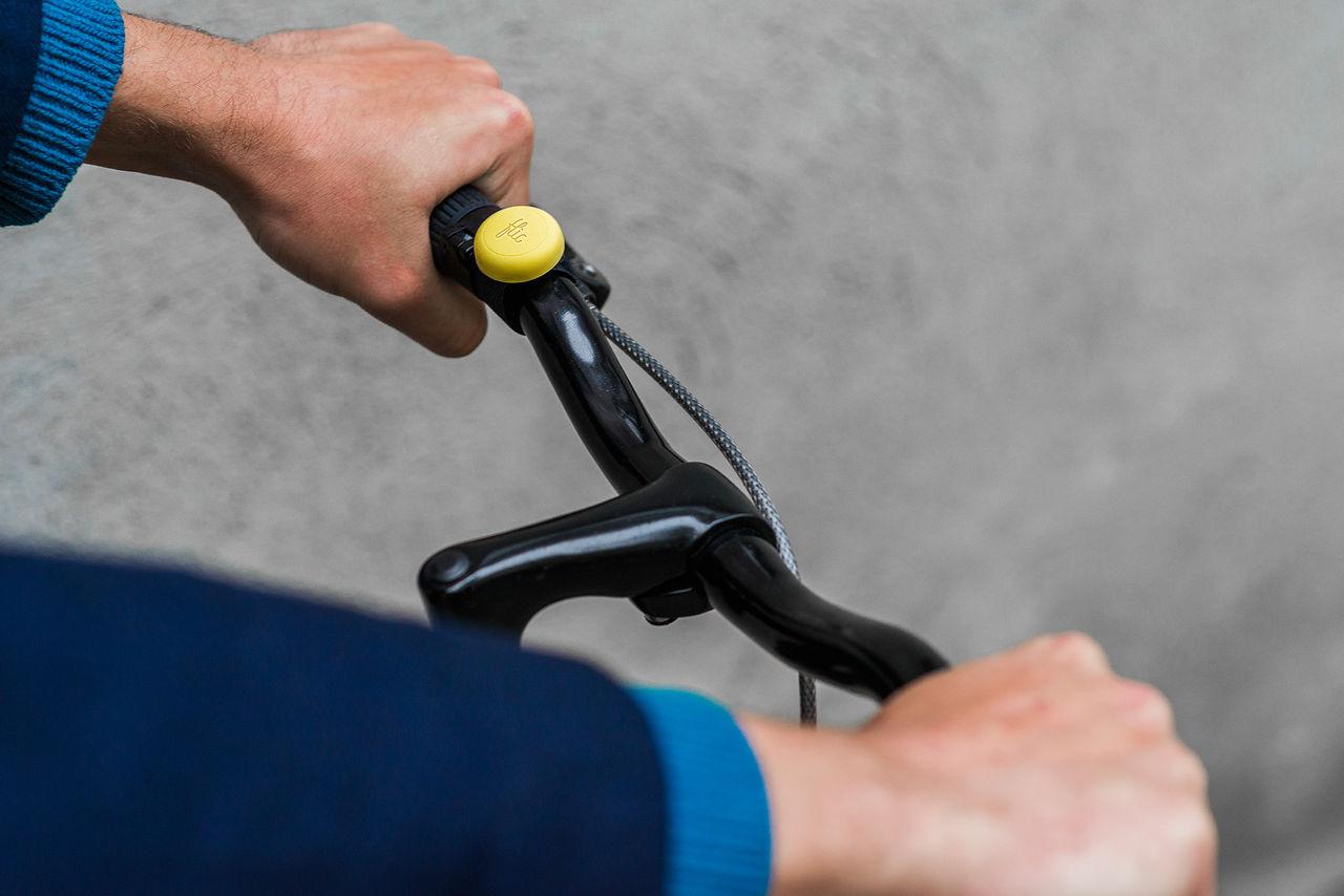 Markera farliga cykelplatser med en knapp