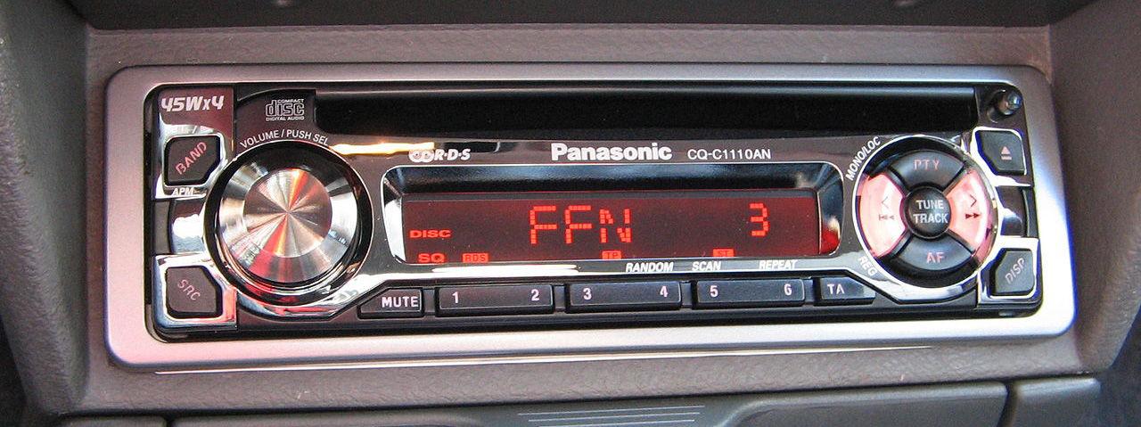 Snubbe fick inte in lokalradiokanalen i sin nya bil