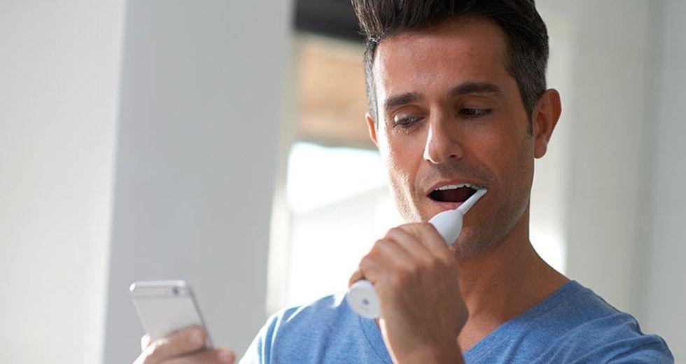 Philips visar upp ny uppkopplad eltandborste