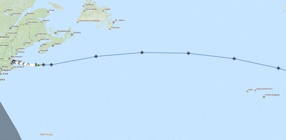 Soldriven robotbåt ska korsa Atlanten